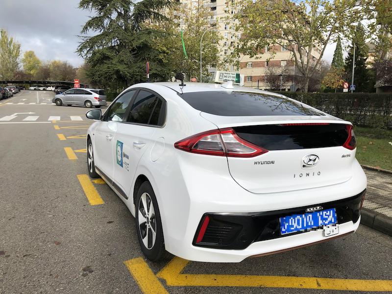taxis electricos vitoria