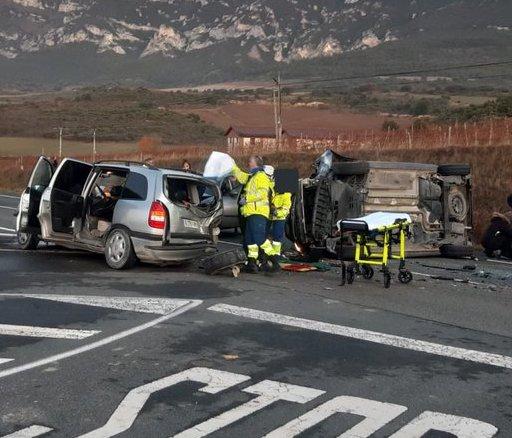 accidente trafico leza