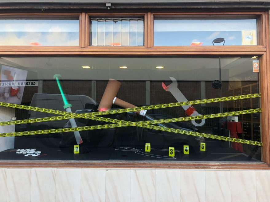 basoco, concurso de escaparates de Vitoria 2019