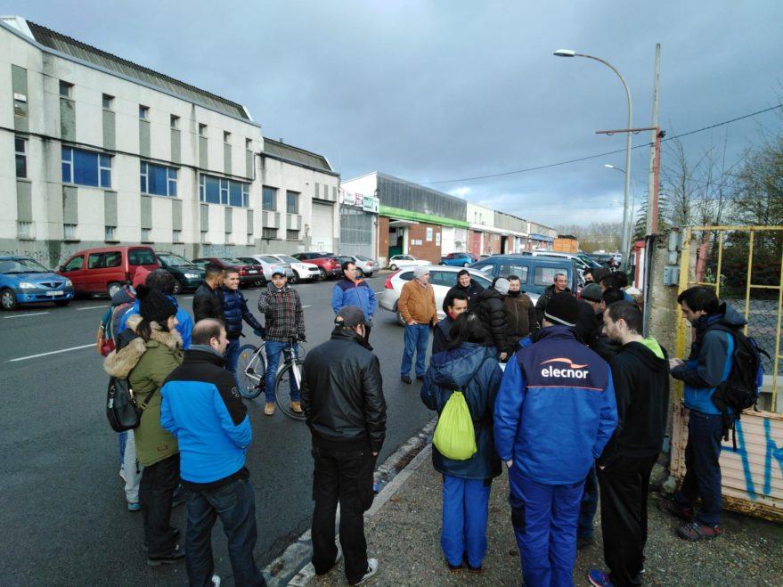 huelga elecnor instaladores movistar
