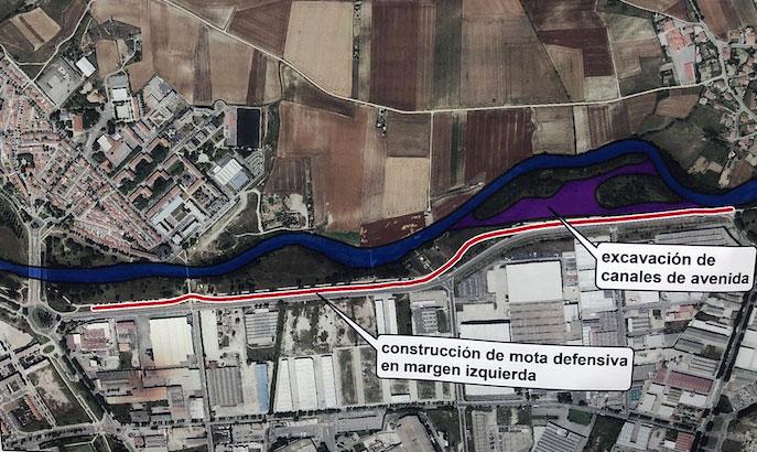 obras zadorra abetxuko gamarra inundaciones