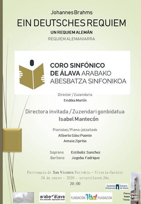 Coro sinfónico de Álava @ Parroquia San Vicente