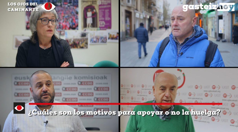 ¿Hay motivos para la huelga general del 30 de enero? | Gasteiz Hoy