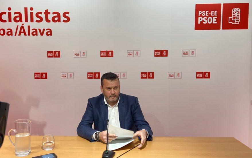 javire martinez alcalde iruña de oca dimite