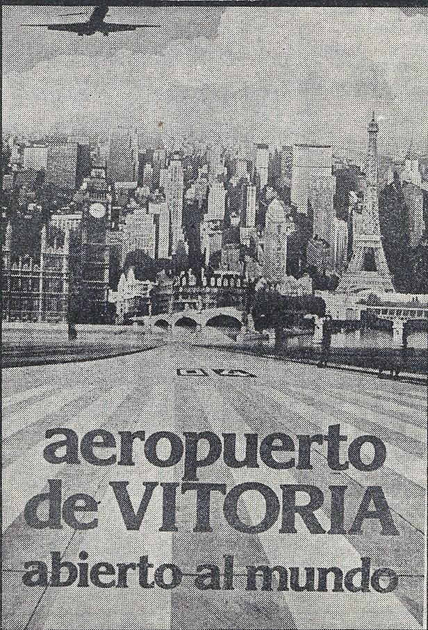 40 años aeropuerto foronda vitoria