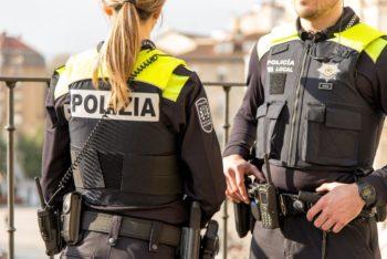 Un detenido por agredir a su expareja en Sansomendi