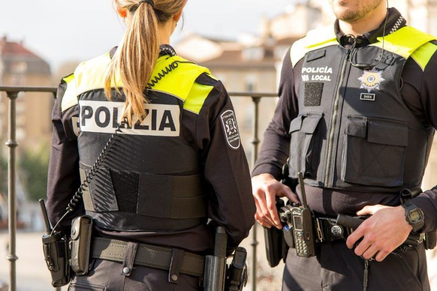 policia local uniformes vitoria