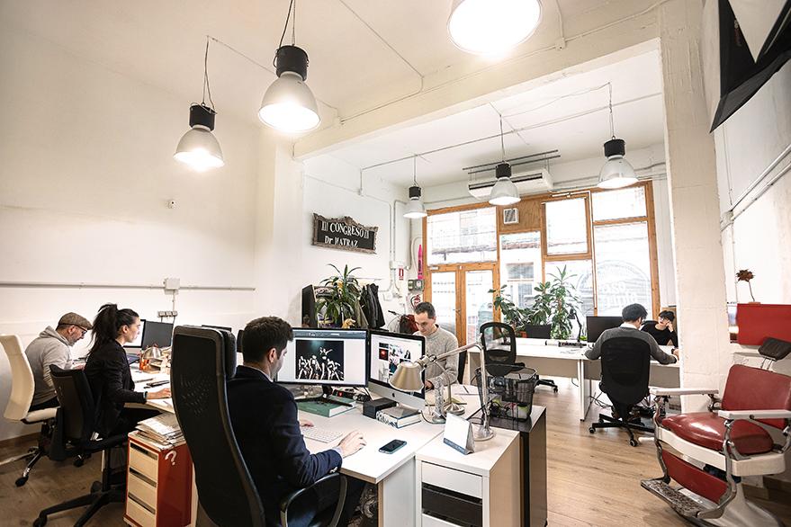 espacio de trabajo para creativos en Vitoria