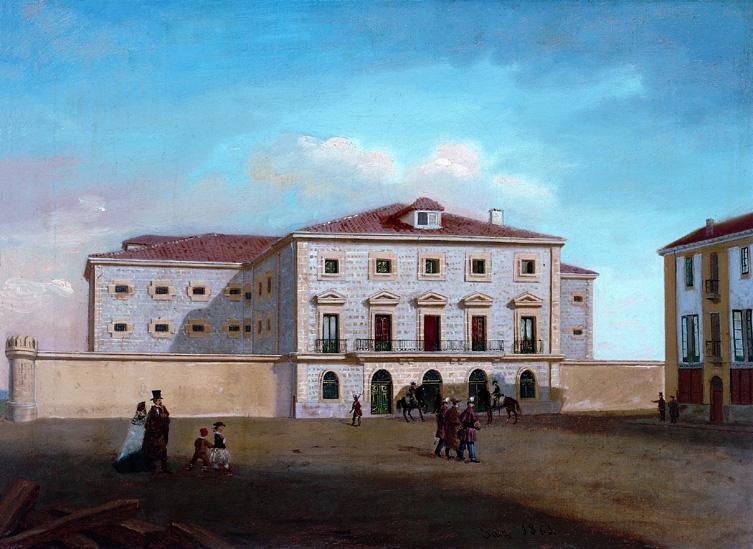 Vista de la cárcel de Vitoria