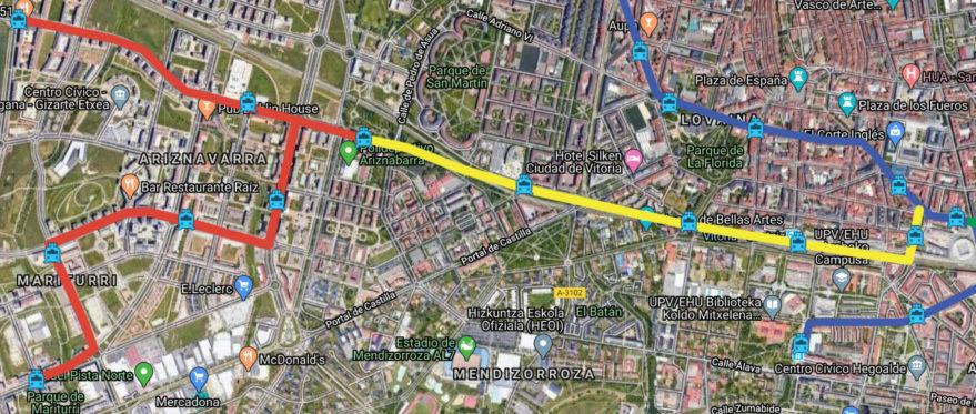 Ampliación del tranvía hacia Zabalgana