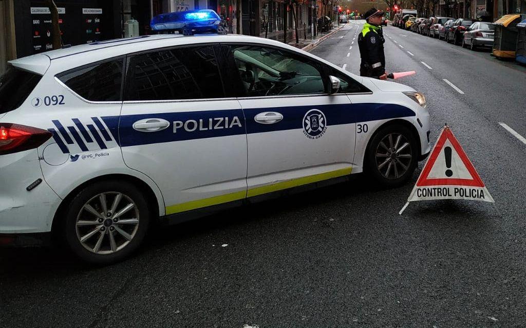 control policia vitoria