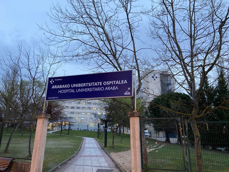 hospital-txagorritxu escapa coronavirus