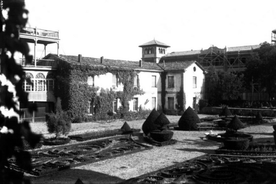 Jardín hospital santiago vitoria