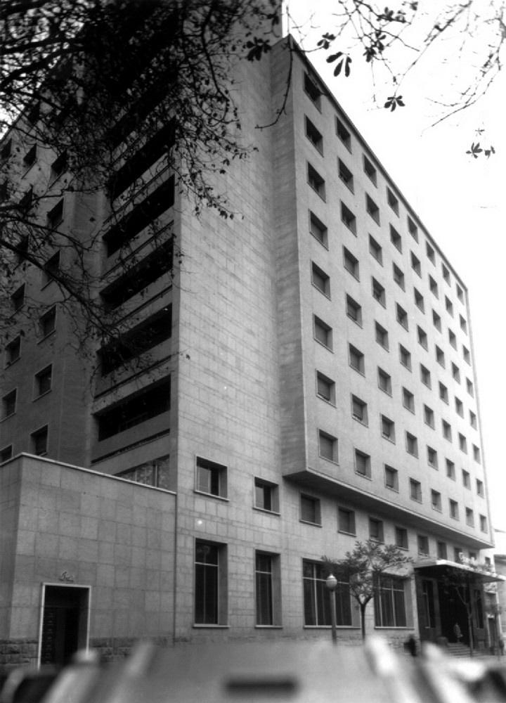 Hotel Canciller Ayala en 1958. ATHA