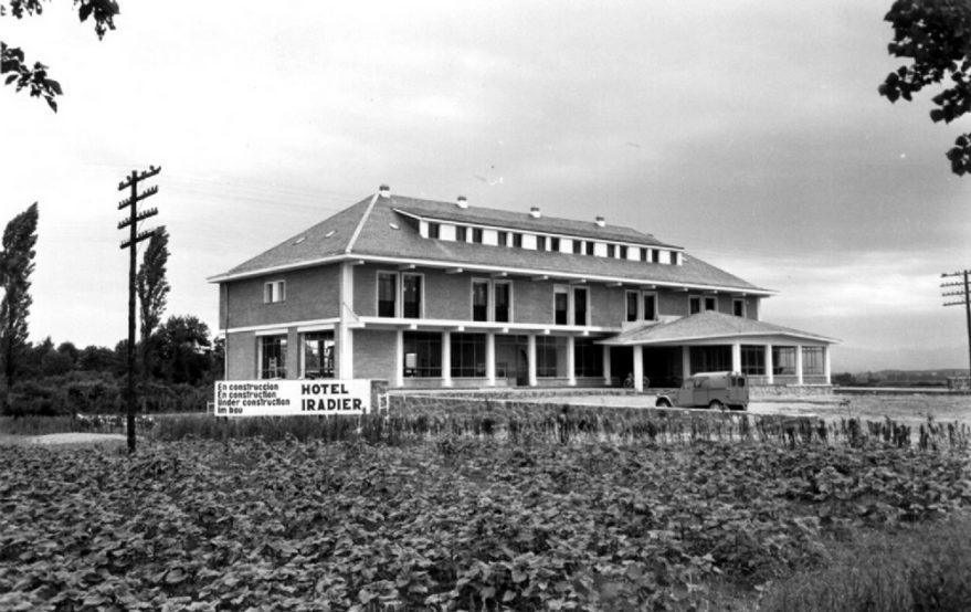 Construcción del hotel Iradier. ATHA