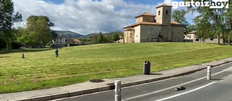 Vallas en Armentia para controlar el aforo | Gasteiz Hoy