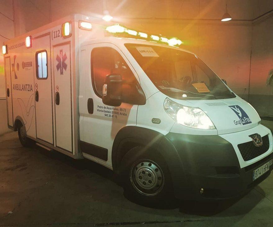 ambulancia coronavirus alava