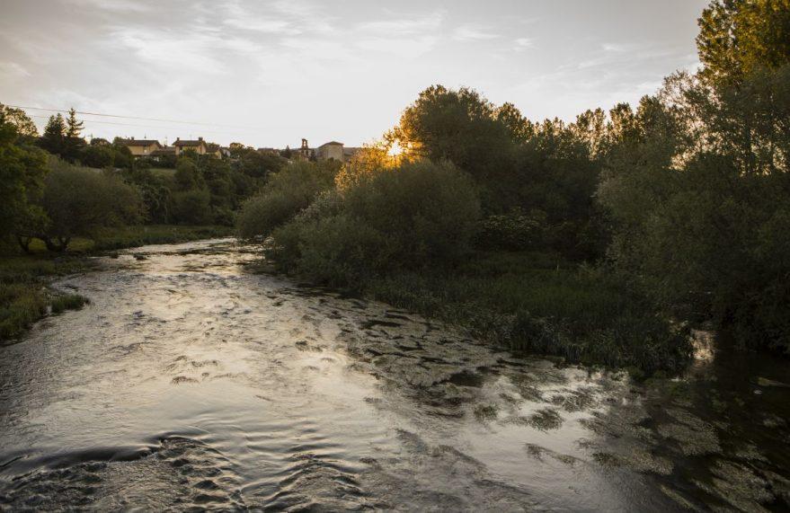 Río Zadorra. Foto de Borja Triviño