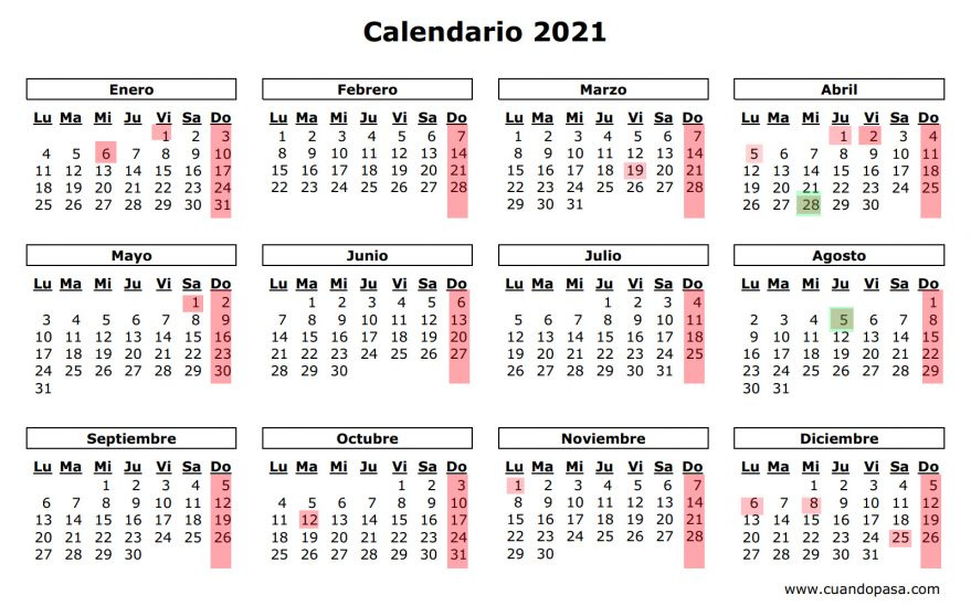 calendario laboral 2021 gobierno vasco