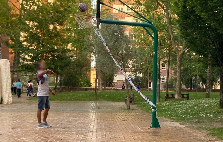 baloncesto desescalada