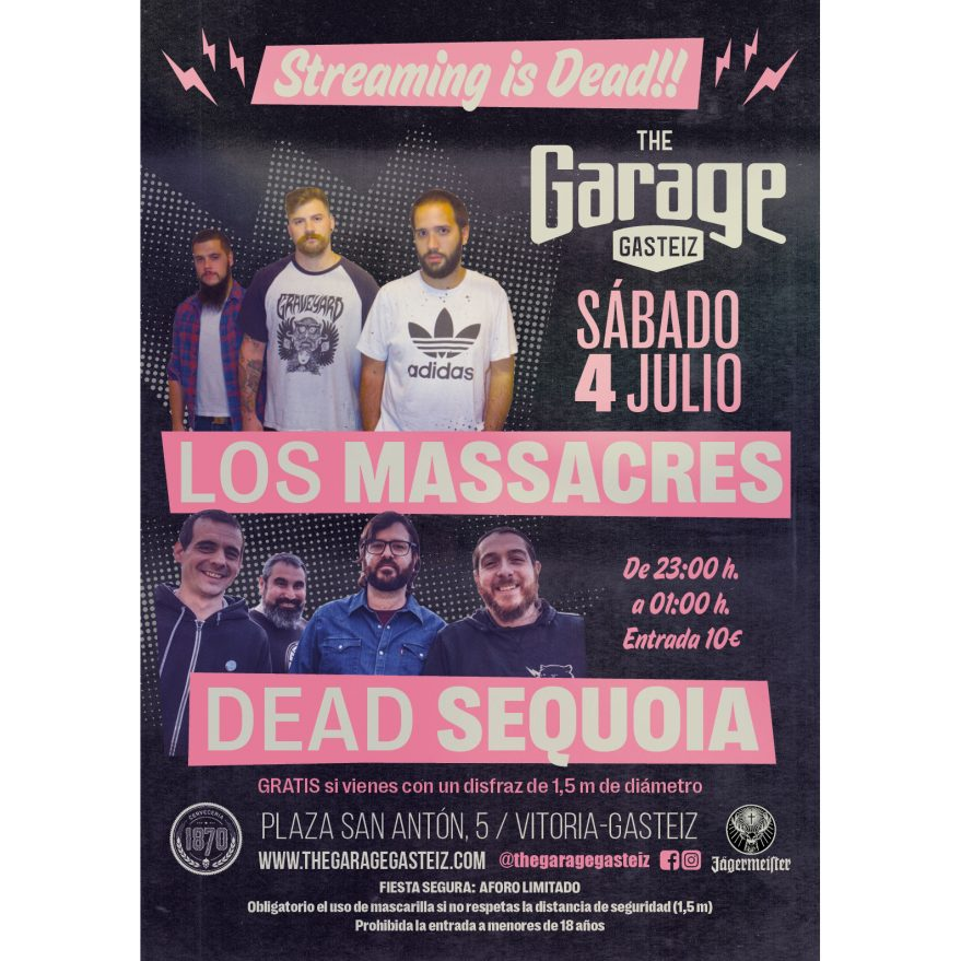 Dead Sequoia + Los Masscres @ The Garage