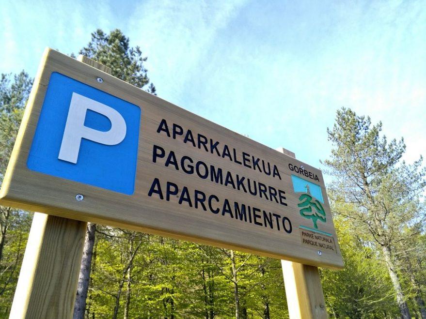 Parking-de-Pagomakurre-Gorbeia