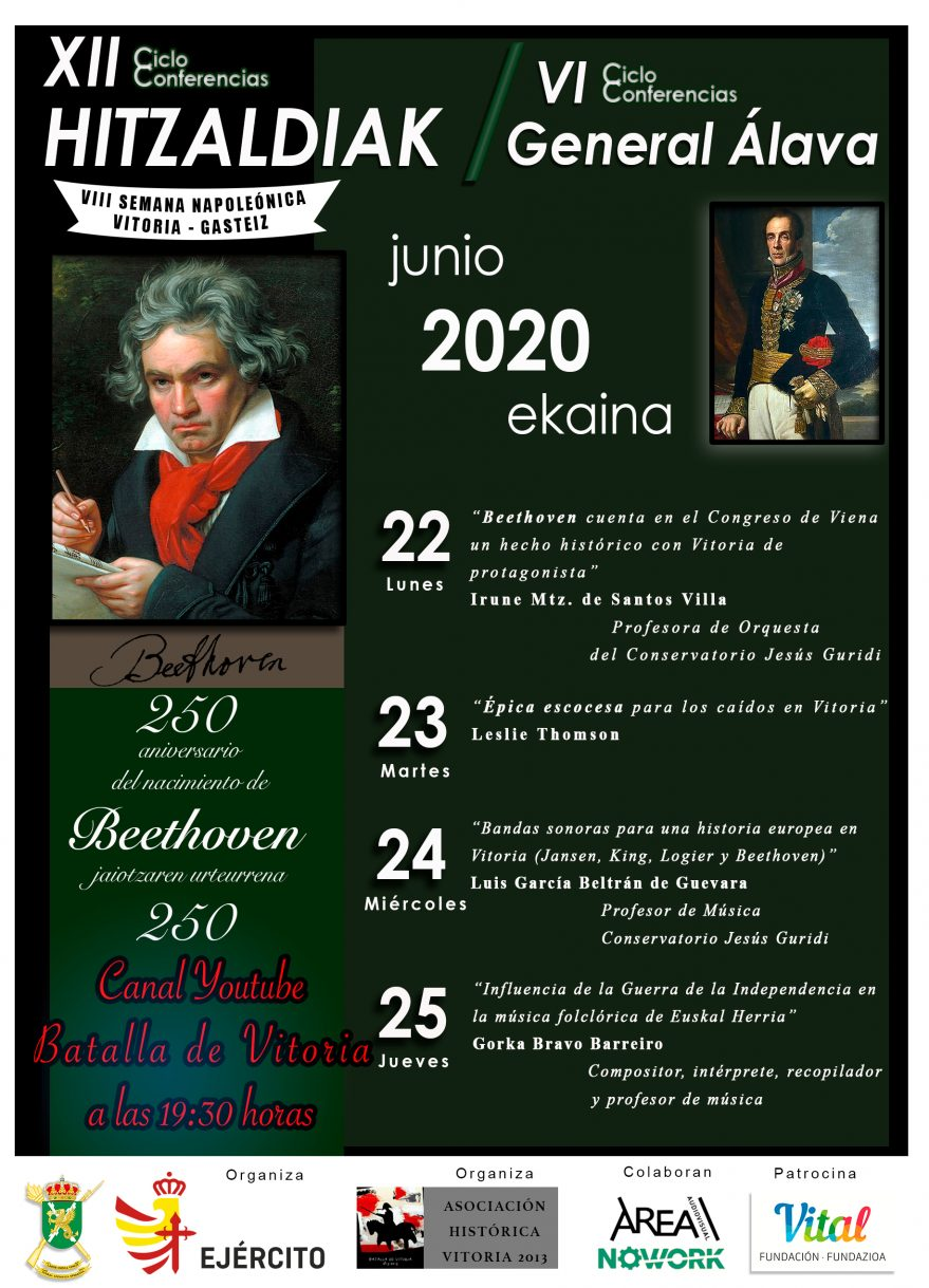 Cartel VI Ciclo Conferencias General Álava
