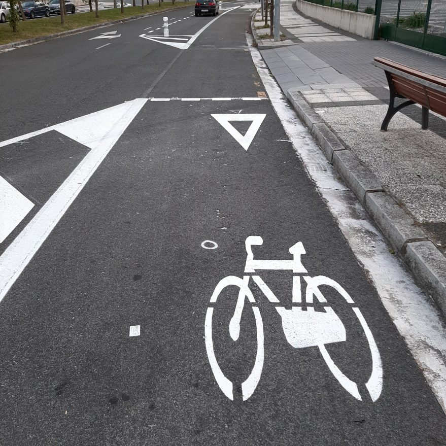 carril bici avenida de los huetos bremen dusseldorf
