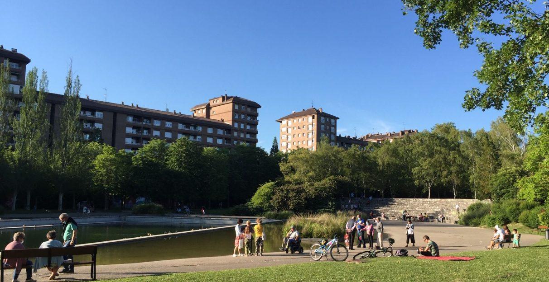 parque de arriaga verano