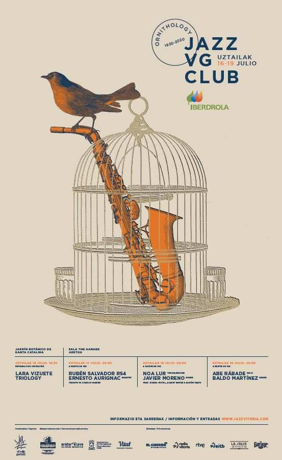 Cartel Festival Jazz Vg Club