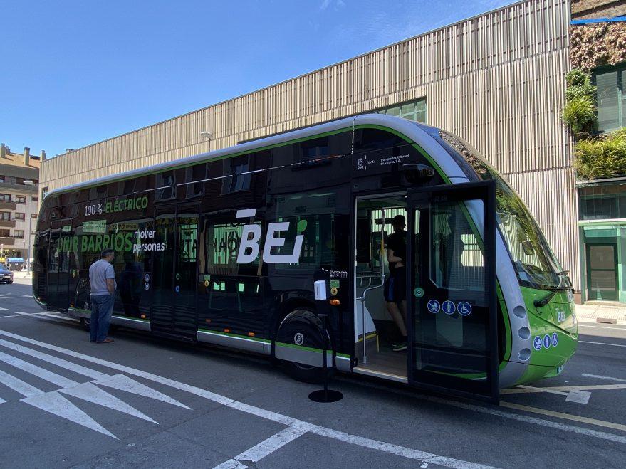 Bei Vitoria bus eléctrico