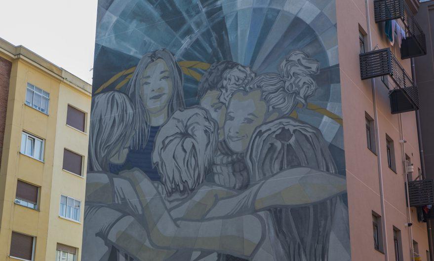 mural coronacion eulogio serdan