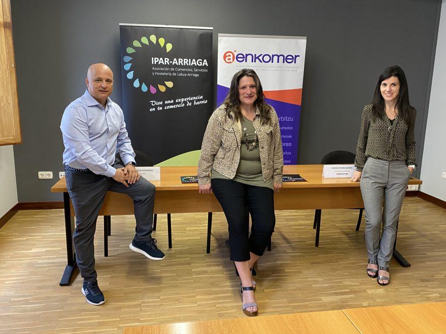 Presentación: Asociación de comercios, servicios y hostelería Ipar-Arriaga