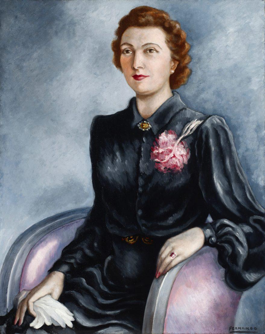 Retrato de su esposa - Fernando García Alegría
