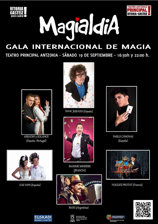 Cartel Gala internacional de Magia 2020