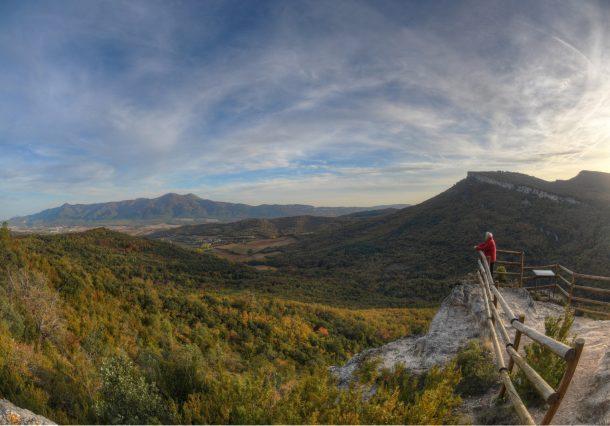 Parque Natural de Izki: rutas, astronomía y observación de aves