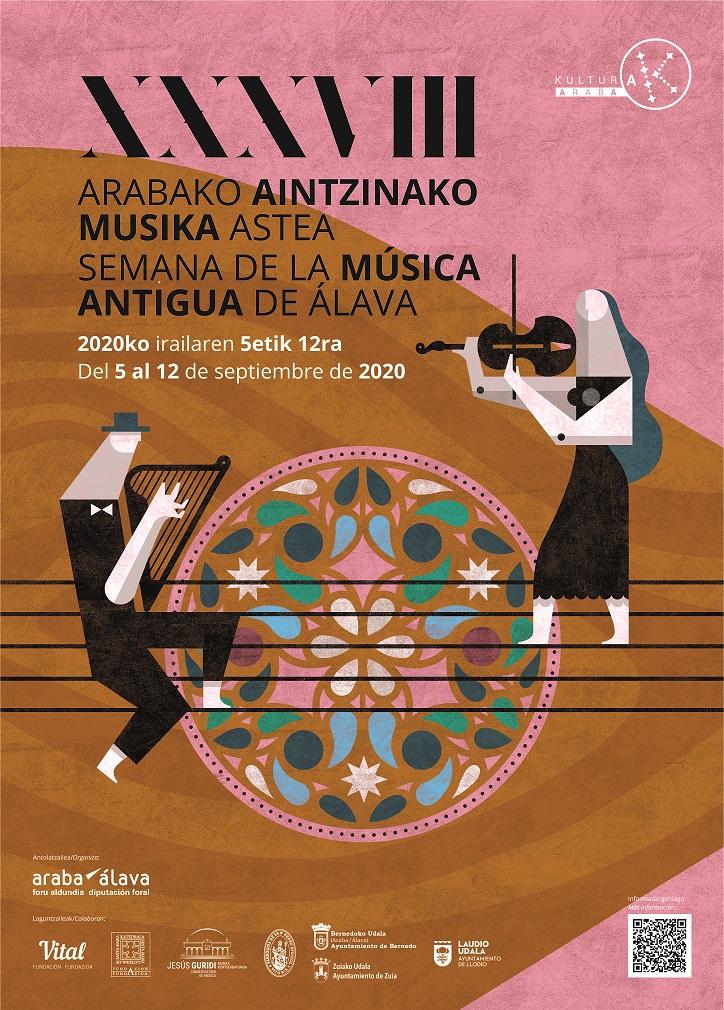 Cartel Semana Música Antigua Alava