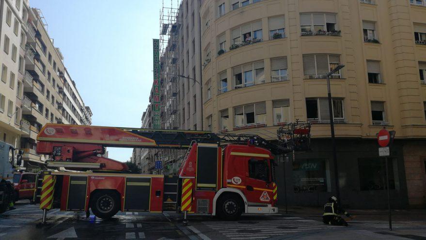 Incendio bomberos fcc