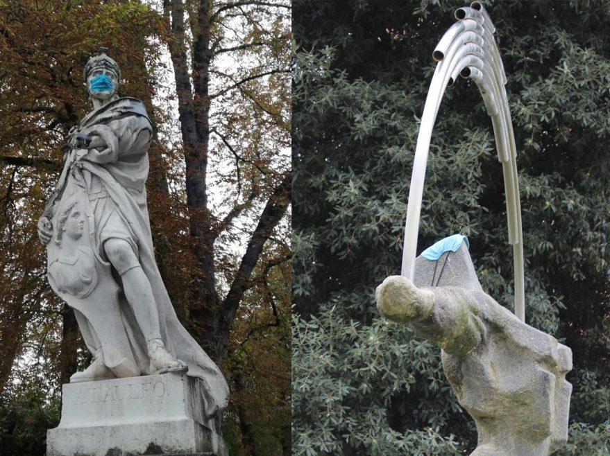 mascarillas esculturas vitoria