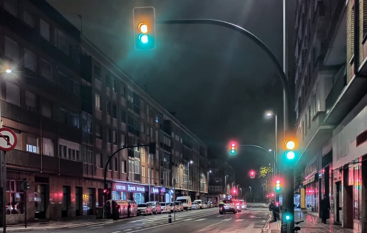 semaforo tres luces