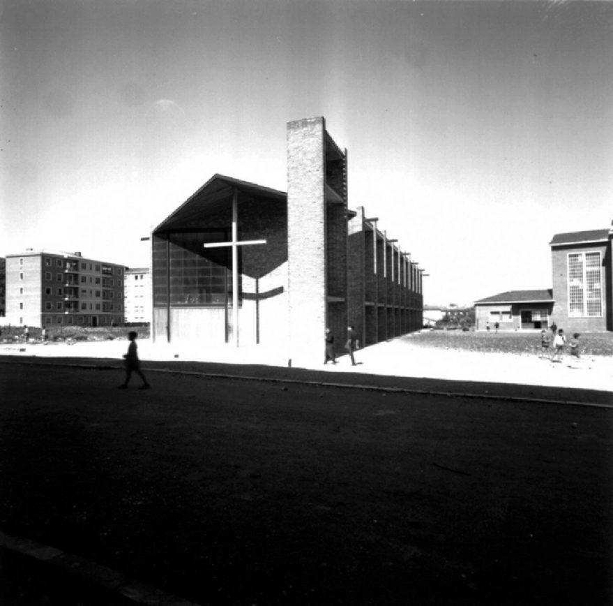 Iglesia de San Ignacio en 1961. ATHA