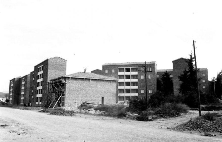 Calle Heraclio Fournier hacia 1960. ATHA.