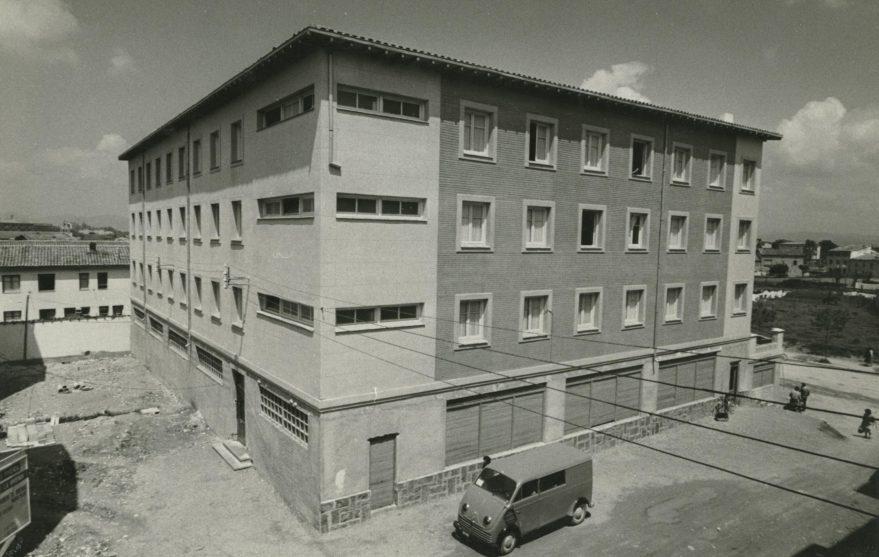 Residencia obrera femenina en 1959. Fondo Fundación Sancho el Sabio.