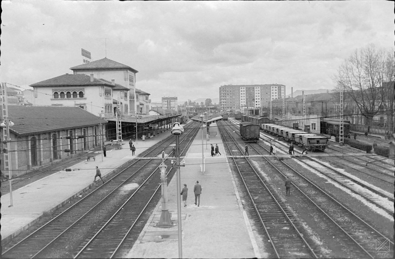Estacion Renfe 1965