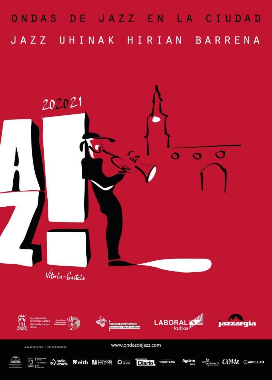 Cartel Ondas de Jazz en la ciudad 2020 -2021