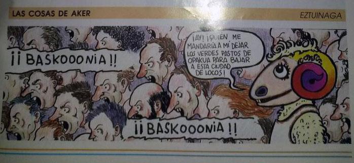 historia Aker mascota Baskonia