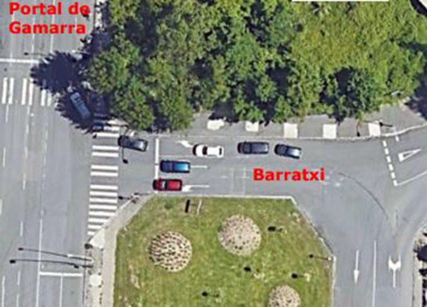carril-bici-portal-foronda-calle-barratxi
