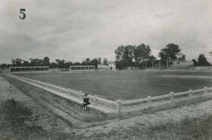 Campo de fútbol de Mendizorroza a principios de los años veinte. Fondo Fundación Sancho el Sabio..