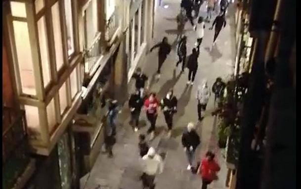 La noche de Halloween deja incidentes aislados en Vitoria | Gasteiz Hoy