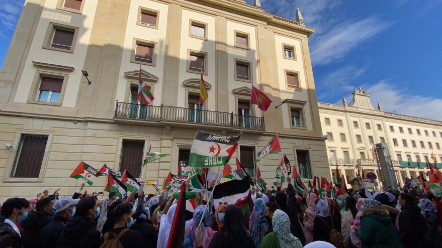 saharauis vitoria ocupacion marroqui